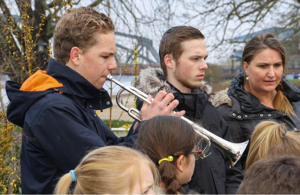Foto trompetist